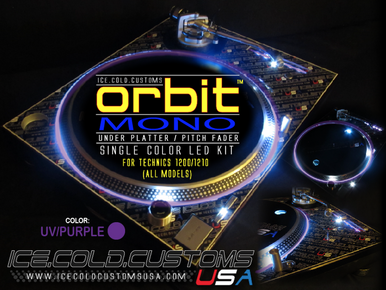ICC USA ORB MONO UV/PURPLE