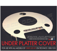 UNDER PLATTER COVER (UPC) for use with all ORBIT LED HALO KITS