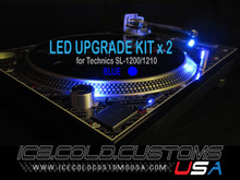 10 x ICE COLD CUSTOMS USA BLUE LED Kit for Technics 1200/1210