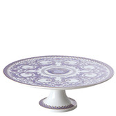 VERSACE LE GRAND FOOTED CAKE PLATE