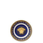VERSACE MEDUSA BLUE BREAD AND BUTTER PLATE