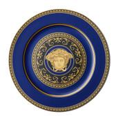 VERSACE MEDUSA BLUE SERVICE PLATE