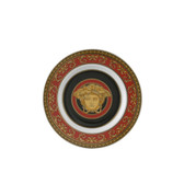 VERSACE MEDUSA RED BREAD AND BUTTER PLATE