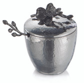 MICHAEL ARAM BLACK ORCHID MINI POT & SPOON