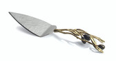 MICHAEL ARAM OLIVE BRANCH GOLD CAKE SERVER