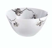 MICHAEL ARAM BLACK ORCHID SERVING BOWL
