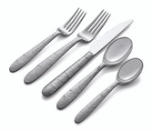 MICHAEL ARAM FOREST LEAF 5 PIECE FLATWARE