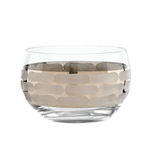 MICHAEL WAINWRIGHT TRURO PLATINUM SMALL BOWL GLASS