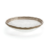 MICHAEL WAINWRIGHT TRURO PLATINUM LARGE SHALLOW BOWL