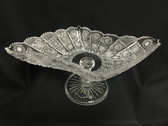 BOHEMIA CRYSTAL FOOTED BOWL-5