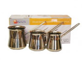 NOUR COFFEE POT STYLE 1 JAZVA SET OF 3