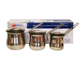 NOUR COFFEE POT STYLE 3 JAZVA SET OF 3