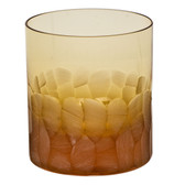 MOSER PEBBLES DOUBLE OLD FASHIONED 8OZ TOPAZ