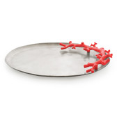 Ocean Reef Large Platter - Red