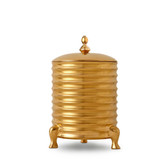 L'OBJET HAN CANISTER CANDLE GOLD
