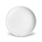 L'objet White Corde Dinner Plate