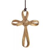 PALM CROSS ORNAMENT