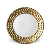 L'OBJET AEGEAN DINNER PLATE GOLD