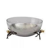 Pomegranate Glass Bowl w/ Spoon