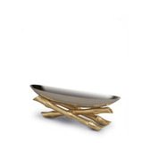 L'OGJET BAMBOU SERVING BOAT SMALL
