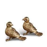 L'OBJET BIRD SPICE JEWELS SET OF 2 GOLD