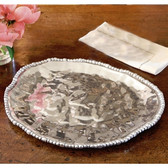 BEATRIZ BALL ORGANIC PEARL NOVA TRIANGLE PLATTER LARGE