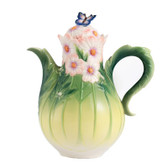 FRANZ COSMOS AND BUTTERFLY TEAPOT