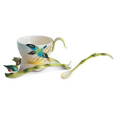 FRANZ BAMBOO SONG BIRD CUP/SAUCER SET