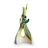 FRANZ BAMBOO SONG BIRD TRIANGLE VASE