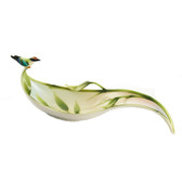 FRANZ BAMBOO SONG BIRD CANDY DISH