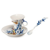 FRANZ ETERNAL LOVE CUP/SAUCER SET