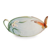 FRANZ PAPILLON BUTTERFLY ORNAMENTAL OVAL PLATTER