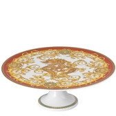 VERSACE ASIAN DREAM FOOTED CAKE PLATE