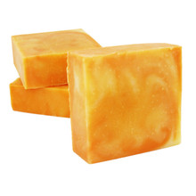 Orange Hibiscus Soap w/ Aloe - SAMPLE SIZE 1.5oz