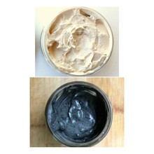 Coffee Butter Deep Conditioner w/ Tamanu Butter + Charcoal Deep Treatment - 8oz. COMBO