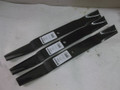 "set of 3 blades for 60"" Haban Deck Cub Cadet 759-3839 759-3411"