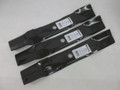 3 John Deere Stens Mower Blades for D140, D150, D160, LA130, LA140, LA145, LA165, X140, 145
