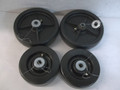 "4 John Deere 72"" Mower Deck Wheel kit 855 955 AM107561 AM107558 4310 4210 970"
