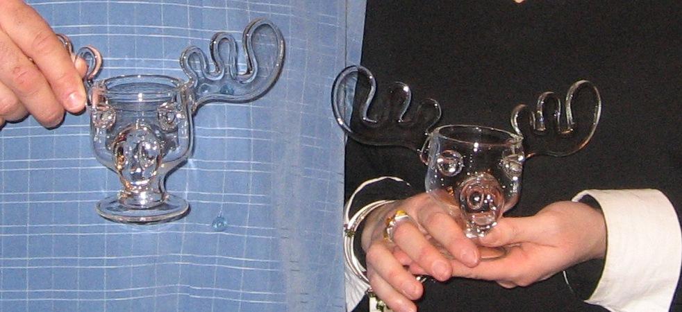 real moose mugs - Moose Mugs From Christmas Vacation Movie