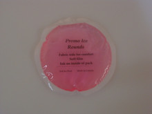 "4"" round Soft Ice Gel Pack - perfect for Dermatology and Dental applications."