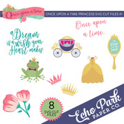 Once Upon A Time Princess SVG Cut Files #1