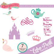 Once Upon A Time Princess SVG Cut Files #3