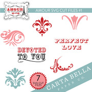 Amour SVG Cut Files #1