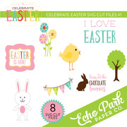 Celebrate Easter SVG Cut Files #1