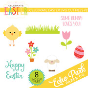Celebrate Easter SVG Cut Files #2
