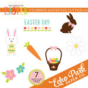 Celebrate Easter SVG Cut Files #3