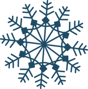 Christmas Snowflake #2 SVG Cut File