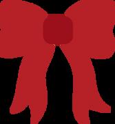 Christmas Bow SVG Cut File