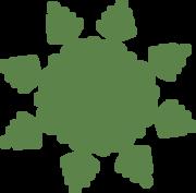 Christmas Snowflake #6 SVG Cut File