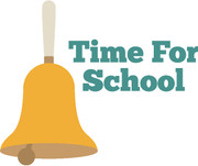 Time For School SVG Cut File